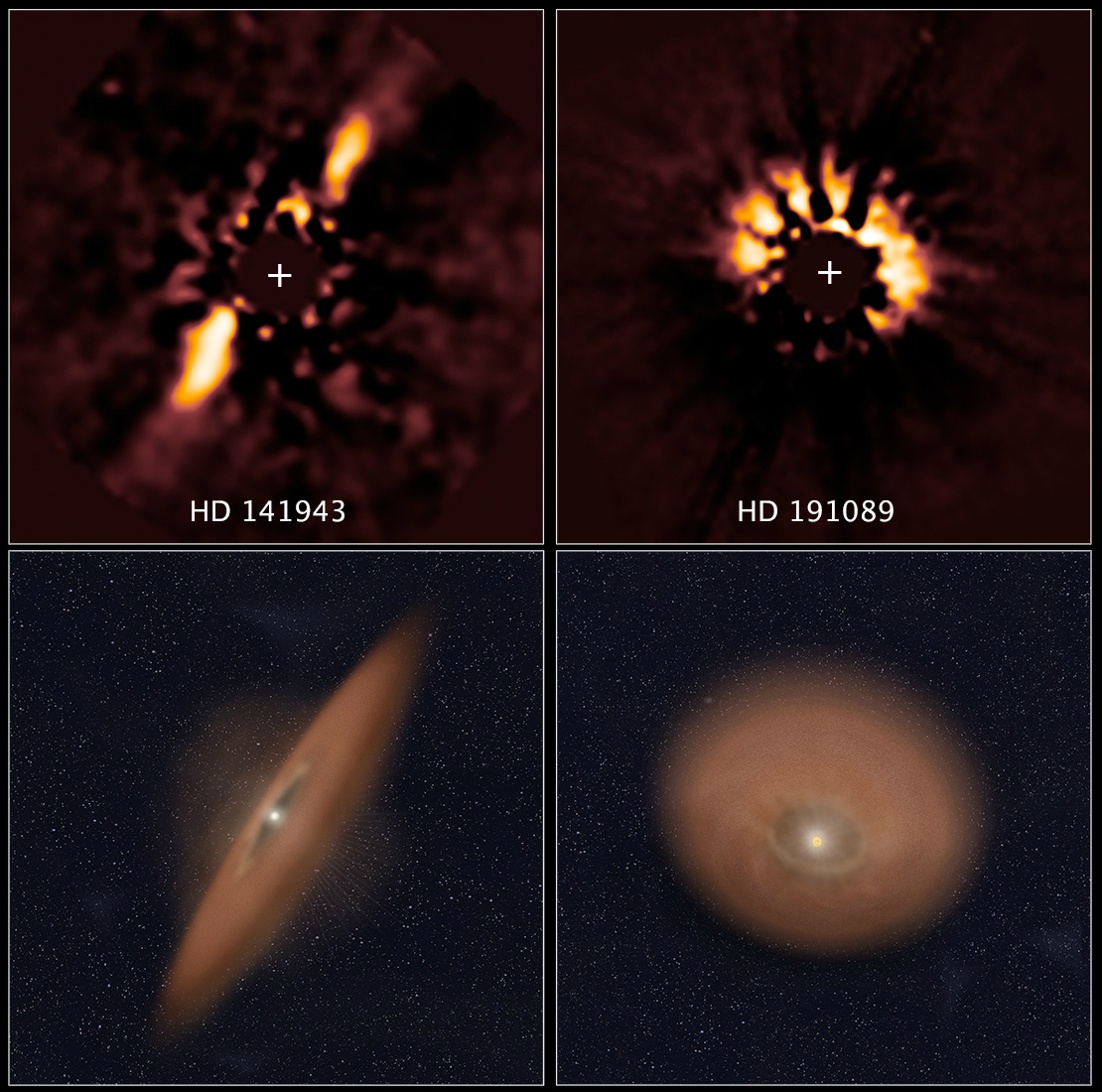 Some protoplanetary disks