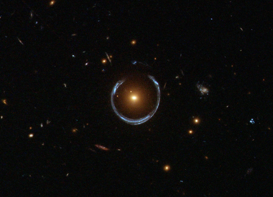Einstein rings are awesome!