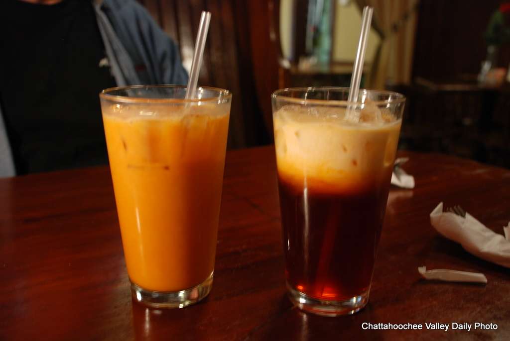 thai iced tea is a lot like the cosmic microwave background at first ...